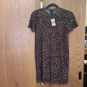 NWT Material Girl Cheetah Print Bodycon dress